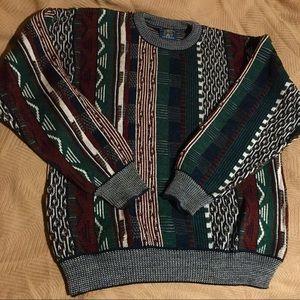 Vintage Grandpa Sweater EUC sz vintage L